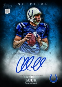 Panini and Topps Quick to Unveil Andrew Luck and Robert Griffin III Cards 3