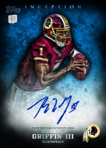 Panini and Topps Quick to Unveil Andrew Luck and Robert Griffin III Cards 6