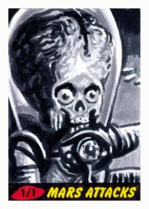 2012 Topps Mars Attacks Heritage Trading Cards 31