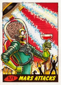 2012 Topps Mars Attacks Heritage Trading Cards 28