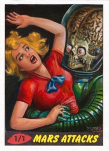 2012 Topps Mars Attacks Heritage Trading Cards 24