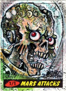 2012 Topps Mars Attacks Heritage Trading Cards 27