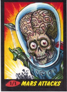2012 Topps Mars Attacks Heritage Sketch Cards Jim Kyle