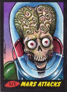 2012 Topps Mars Attacks Heritage Trading Cards 26