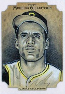2012 Topps Museum Collection Canvas Collection CCR-14 Roberto Clemente