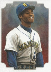 2012 Topps Museum Collection Canvas Collection CCR-19 Ken Griffey Jr