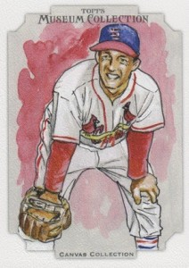 2012 Topps Museum Collection Canvas Collection CCR-4 Stan Musial