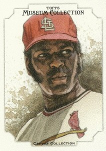 2012 Topps Museum Collection Canvas Collection CCR-9 Bob Gibson