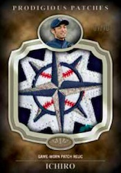 2012 Topps Tier One Baseball Prodigious Patches Card Image