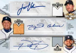 2012 Topps Triple Threads Baseball Cards 6