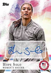 2012 Topps U.S. Olympic Team and Olympic Hopefuls Trading Cards 2