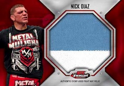 2012 Topps UFC Finest 5