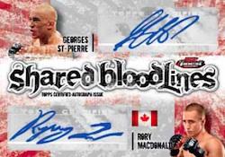 2012 Topps UFC Finest 10