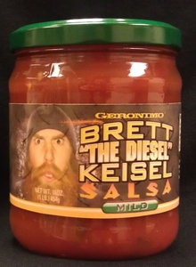 Sports Food Endorsements - Brett The Diesel Keisel Salsa