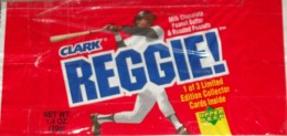Sports Food Endorsements - Clark Reggie Bar