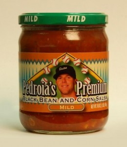 Sports Food Endorsements - Dustin Pedroia Salsa