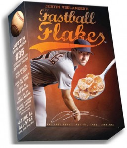 Sports Food Endorsements - Fastball Flakes