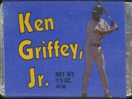 Sports Food Endorsements - Ken Griffey Jr Chocolate Bar