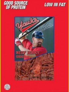 Sports Food Endorsements - Kevin Youkilis Beef Jerky