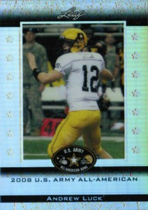 Leaf Sues Andrew Luck Over Army All-American Bowl Trading Cards 1