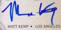 Matt Kemp Cards, Rookie Cards and Autographed Memorabilia Guide 25