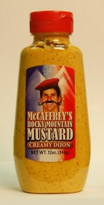 Sports Food Endorsements - McCaffreys Rocky Mountain Mustard