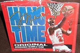 Sports Food Endorsements - Michael Jordan Hang Time Gum