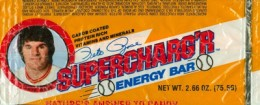 Sports Food Endorsements - Pete Rose Supercharg'r Energy Bar