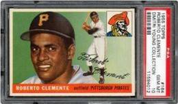1955 Topps Roberto Clemente PSA 10 - Dmitri Young Collection