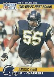 Junior Seau Football Cards and Autograph Memorabilia Guide 3