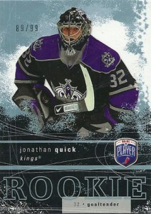 Jonathan Quick Rookie Cards and Autograph Memorabilia Guide 1