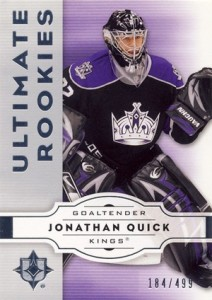 Jonathan Quick Rookie Cards and Autograph Memorabilia Guide 3