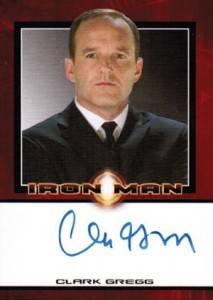 Avengers Autographs - 2008 Iron Man Autograph Clark Gregg