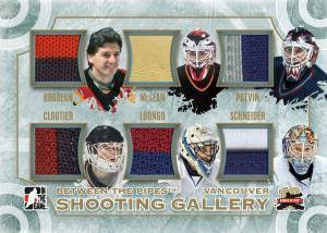 2011-12 In the Game Between the Pipes Hockey Cards 31