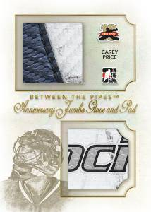 2011-12 In the Game Between the Pipes Hockey Cards 4