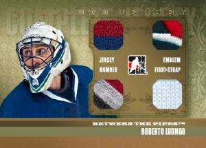 2011-12 In the Game Between the Pipes Hockey Cards 10