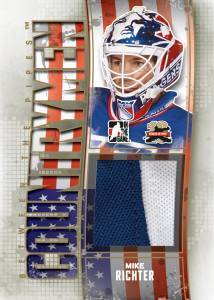 2011-12 In the Game Between the Pipes Hockey Cards 12