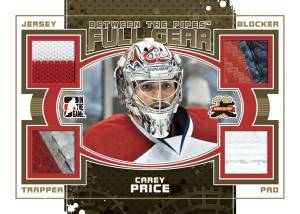 2011-12 In the Game Between the Pipes Hockey Cards 17