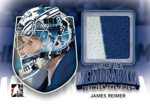 2011-12 In the Game Between the Pipes Hockey Cards 30