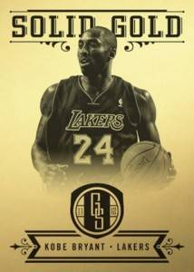 2011 12 Panini Gold Standard Solid Gold Kobe Bryant 214x300 Image