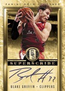 2011 12 Panini Gold Standard Superscribe Autographs Blake Griffin 214x300 Image