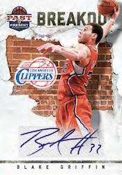 2011 12 Panini Past Present Basketball Breakout Card Image