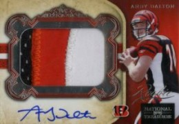 Andy Dalton Cards, Rookie Card Checklist and Autographed Memorabilia Guide 1
