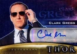 2011 Upper Deck Thor Autographs Clark Gregg