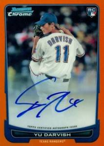 Rainbow Connection: 2012 Bowman Baseball Yu Darvish Visual Guide 14