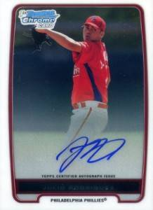 2012 Bowman Baseball Chrome Prospect Autographs Gallery and Guide 29