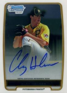 2012 Bowman Baseball Chrome Prospect Autographs Gallery and Guide 12