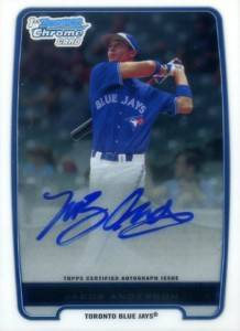 2012 Bowman Baseball Chrome Prospect Autographs Gallery and Guide 15