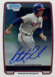 2012 Bowman Baseball Chrome Prospect Autographs Gallery and Guide 19