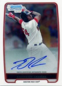 2012 Bowman Baseball Chrome Prospect Autographs Gallery and Guide 23